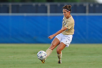 27 August 2011:  FIU's Deana Rossi (17) passes the ball in the first half as the FIU Golden Panthers defeated the University of Arkon Zips, 1-0, at University Park Stadium in Miami, Florida.