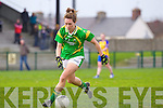 Denise Hallissey for the Kerry ladies team that played Clare last Saturday afternoon in Listowel.