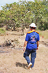 Aki Ra Walking To Demining Operations