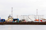 Paterson fuel tanks at Aberdeen Harbour<br /> <br /> Image by: Malcolm McCurrach<br /> Fri, 27, February, 2015 |  &copy; Malcolm McCurrach 2015 |  Insertion and use fees apply |  All rights Reserved. picturedesk@nwimages.co.uk | www.nwimages.co.uk | 07743 719366