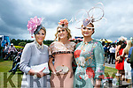 Enjoying the Killarney Races on Thursday were Lisa Martin, Linda O'Brien and Ann Marie Dowling