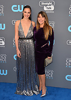Gal Gadot &amp; Patty Jenkins at the 23rd Annual Critics' Choice Awards at Barker Hangar, Santa Monica, USA 11 Jan. 2018<br /> Picture: Paul Smith/Featureflash/SilverHub 0208 004 5359 sales@silverhubmedia.com