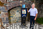 Cllr: Brendan Cronin stands next to the broken parking ticket kiosk in the Lewis Road car park in Killarney on Tuesday.