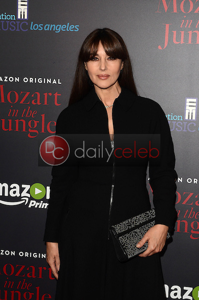 """Monica Bellucci<br /> at the """"Mozart In The Jungle"""" Special Screening and Concert, The Grove, Los Angeles, CA 12-01-16<br /> David Edwards/DailyCeleb.com 818-249-4998"""