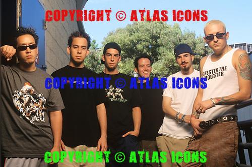Linkin Park: Chester Bennington<br /> Photo Credit: Joe Giron/ Atlas Icons.com