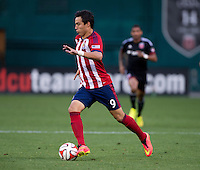 Washington, DC - July 20, 2014: D.C. United defeated Chivas USA 3-1 at RFK Stadium.