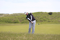 Sam Sweeney (USA) during the 1st round of the East of Ireland championship, Co Louth Golf Club, Baltray, Co Louth, Ireland. 02/06/2017<br /> Picture: Golffile | Fran Caffrey<br /> <br /> <br /> All photo usage must carry mandatory copyright credit (&copy; Golffile | Fran Caffrey)