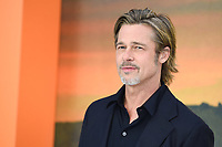 "Brad Pitt<br /> arriving for the ""Once Upon a Time... in Hollywood"" premiere, Leicester Square, London<br /> <br /> ©Ash Knotek  D3514  30/07/2019"