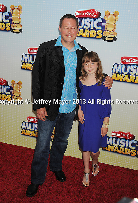 LOS ANGELES, CA- APRIL 27: Actor Jeff Corwin arrives at the 2013 Radio Disney Music Awards at Nokia Theatre L.A. Live on April 27, 2013 in Los Angeles, California.