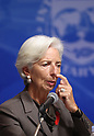 IMF Managing Director Christine Lagarde in Tokyo