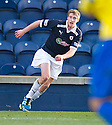 IAIN WILLIAMSON CELEBRATES AFTER HE  SCORES RAITH'S FIFTH