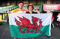 Fans of Swansea City during the Pre-Season Friendly between Yeovil and Swansea City at Huish Park, Yeovil, England, UK. Tuesday 10 July 2018