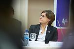 Ohrid - Macedonia - 25 October 2011 -- ETF IPA SOC Network Meeting -- Neyyir Berktay in the plenary sessions at Metropol Hotel, Ohrid -- PHOTO: Ard JONGSMA / EUP-IMAGES