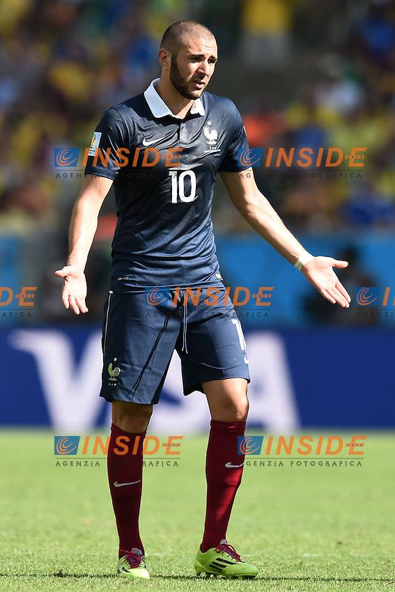 Karim Benzema France <br /> Rio de Janeiro (Brasile) 04-07-2014 Maracana Quarter-Finals / Quarti di finale France - Germany / Francia - Germania. Football 2014 Fifa World Cup Brazil - Campionato del Mondo di Calcio  Brasile 2014 <br /> Foto Insidefoto