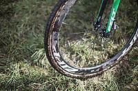Maud Kaptheijns' (NED/Crelan Charles) winning bike<br /> <br /> cx Telenet Superprestige Gieten 2017 (NED)