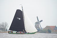 ZEILSPORT: FRYSLÂN, IFKS Skûtsjesilen, ©foto Martin de Jong