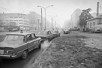 - Milano, intervento della polizia in viale Famagosta, periferia sud della citt&agrave; (1974)<br /> <br /> - Milan, police intervention in Famagosta avenue, southern suburbs of the city (1974)