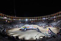 Las Ventas bullring during qualifying Red Bull X-Fighters 2016 at Madrid. 22,06,2016. (ALTERPHOTOS/Rodrigo Jimenez)