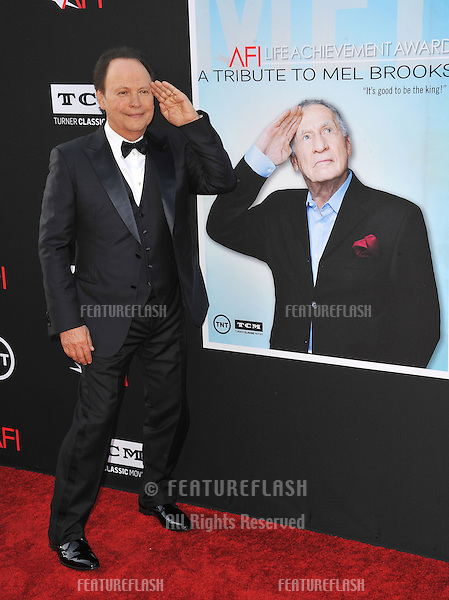 Billy Crystal at the 41st AFI Life Achievement Award honoring Mel Brooks at the Dolby Theatre, Hollywood.<br /> June 6, 2013  Los Angeles, CA<br /> Picture: Paul Smith / Featureflash