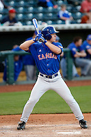 Jason Brunansky - 2009 Kansas Jayhawks playing against the Arizona State Sun Devils at Surprise Stadium - 03/15/2009.Photo by:  Bill Mitchell/Four Seam Images..Son of former major league outfielder Tom Brunansky..