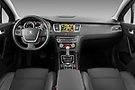 Straight dashboard view of 2012 Peugeot 508 SW Allure Wagon Stock Photo