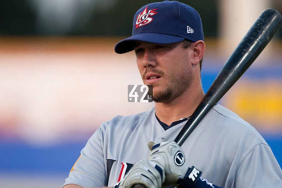 25 September 2009: Terry Tiffee of Team USA is seen prior to the 2009 Baseball World Cup final round match won 8-2 by Team USA over Netherlands, in Nettuno, Italy.