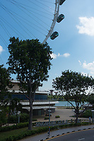 Singapore Flyer ferris wheel entrance