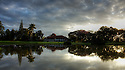 Sunrise over Muthaiga Golf Club.<br /> <br /> Muthaiga Golf Club, proudly called the Home of Golf by its elite membership, is in many ways the ultimate embodiment of Kenya's unique marriage of ancient golf tradition and a modern 18 hole championship golf course. Picture Credit / Phil Inglis