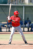 Anel De Los Santos - Los Angeles Angels, 2009 Instructional League.Photo by:  Bill Mitchell/Four Seam Images..
