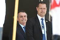 BRASÍLIA, DF, 16.01.2019 - BOLSONARO-MACRI -  Presidente brasileiro Jair Bolsonaro recebe O presidente da Argentina, Mauricio Macri é recebido no Palácio do Planalto em Brasilia nesta quarta-feira, 16. (Foto: Ricardo Botelho/Brazil Photo Press)