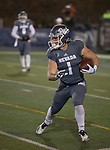 Nevada wide receiver  McLane Mannix (1) runs after making a catch against Colorado State in the first half of an NCAA college football game in Reno, Nev., Saturday, Oct. 27, 2018. (AP Photo/Tom R. Smedes)