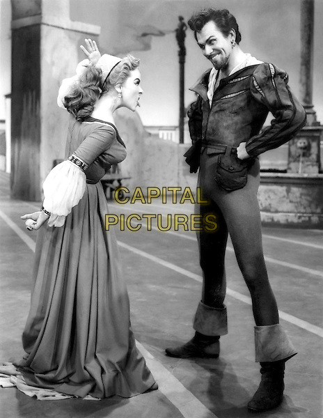 Kathryn Grayson & Howard Keel.in Kiss Me Kate.*Filmstill - Editorial Use Only*.CAP/PLF.Supplied by Capital Pictures.