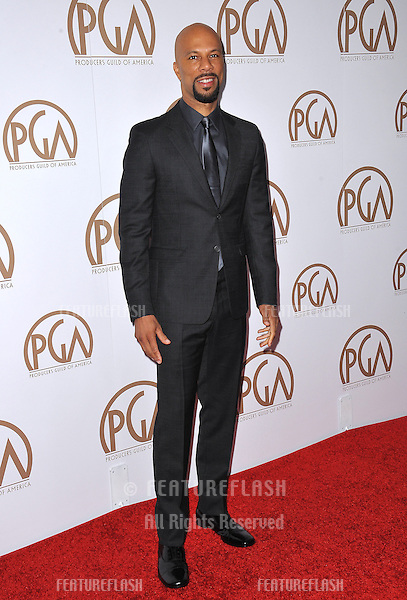 Common at the 26th Annual Producers Guild Awards at the Hyatt Regency Century Plaza Hotel.<br /> January 24, 2015  Los Angeles, CA<br /> Picture: Paul Smith / Featureflash
