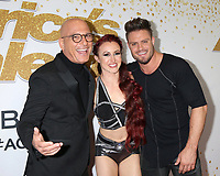 """LOS ANGELES - SEP 19:  Howie Mandel, Duo Transcend at the """"America's Got Talent"""" Crowns Winner Red Carpet at the Dolby Theater on September 19, 2018 in Los Angeles, CA"""