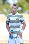 21 August 2015: Charlotte's David Mayer (ENG). The Duke University Blue Devils hosted the University of North Carolina Charlotte 49ers at Koskinen Stadium in Durham, NC in a 2015 NCAA Division I Men's Soccer preseason exhibition. The game ended in a 1-1 tie.