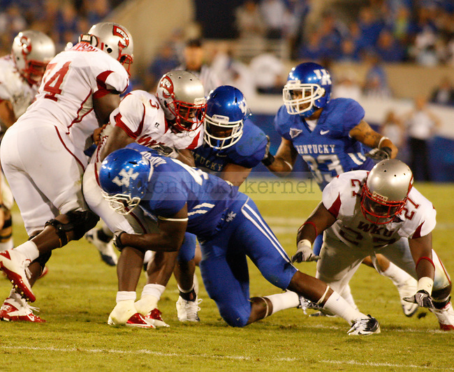 UK played Western Kentucky University in Lexington, Ky., on 9/11/10. Photo by Latara Appleby | Staff