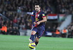 16.12.2012. Barcelona, Spain. La Liga day 16. Picture show Xavi Hernandez in action during game FC Bracelona against Atletico Madrid at Camp Nou