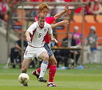 Midfielder John O'Brien. The USA tied South Korea, 1-1, during the FIFA World Cup 2002 in Daegu, Korea.