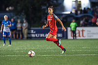 Boston, MA - Sunday September 10, 2017: Nadia Nadim during a regular season National Women's Soccer League (NWSL) match between the Boston Breakers and Portland Thorns FC at Jordan Field.