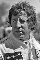 LONG BEACH, CA - APRIL 2: Mario Andretti, driver of the Lotus 78 R3/Ford Cosworth DFV, in the pit lane during practice for the United States Grand Prix West on April 2, 1978, at the temporary street circuit in Long Beach, California.