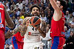 Real Madrid Jeffery Taylor and CSKA Moscow Daniel Hackett and Nando de  Colo during Turkish Airlines Euroleague match between Real Madrid and CSKA Moscow at Wizink Center in Madrid, Spain. November 29, 2018. (ALTERPHOTOS/Borja B.Hojas)