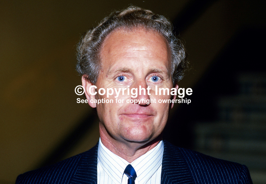 Den Dover, MP, Conservative Party, UK, 19871003DD..Copyright Image from Victor Patterson, 54 Dorchester Park, Belfast, UK, BT9 6RJ..Tel: +44 28 9066 1296.Mob: +44 7802 353836.Voicemail +44 20 8816 7153.Skype: victorpattersonbelfast.Email: victorpatterson@me.com.Email: victorpatterson@ireland.com (back-up)..IMPORTANT: If you wish to use this image or any other of my images please go to www.victorpatterson.com and click on the Terms & Conditions. Then contact me by email or phone with the reference number(s) of the image(s) concerned.