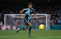 Sido Jombati of Wycombe Wanderers in action during the Sky Bet League 2 match between Wycombe Wanderers and Portsmouth at Adams Park, High Wycombe, England on 28 November 2015. Photo by Andy Rowland.