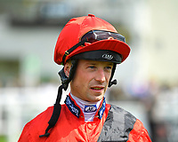 Jockey Jack Mitchell during Afternoon Racing at Salisbury Racecourse on 16th May 2019
