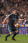 Joseba Zaldua Bengoechea of Real Sociedad in action during their La Liga match between Real Madrid and Real Sociedad at the Santiago Bernabeu Stadium on 29 January 2017 in Madrid, Spain. Photo by Diego Gonzalez Souto / Power Sport Images