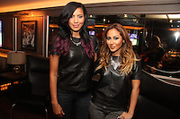 NEW YORK, NY - SEPTEMBER 26:..Julissa Bermudez & Adrienne Bailon at the NBA 2K13 Premeire at 40/40.....© Walik Goshorn / Retna Ltd. /MediaPunch Inc. /NortePhoto