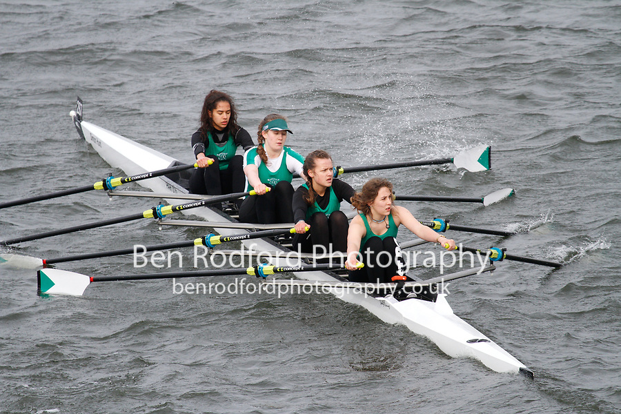 Crew: 287  Barn Elms  Event: Girls J16 Quads<br /> <br /> Schools' Head of the River 2017<br /> <br /> To purchase this photo, or to see pricing information for Prints and Downloads, click the blue 'Add to Cart' button at the top-right of the page.