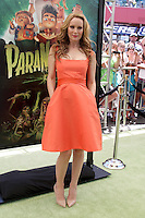 """LOS ANGELES - AUG 5:  Leslie Mann arrives at the """"ParaNorman"""" Premiere at Universal CityWalk on August 5, 2012 in Universal City, CA ©mpi27/MediaPunch Inc"""