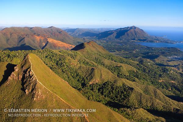 Le Pic Malaoui (636 m), région de Yahoué, commune du Mont-Dore, Nouvelle-Calédonie