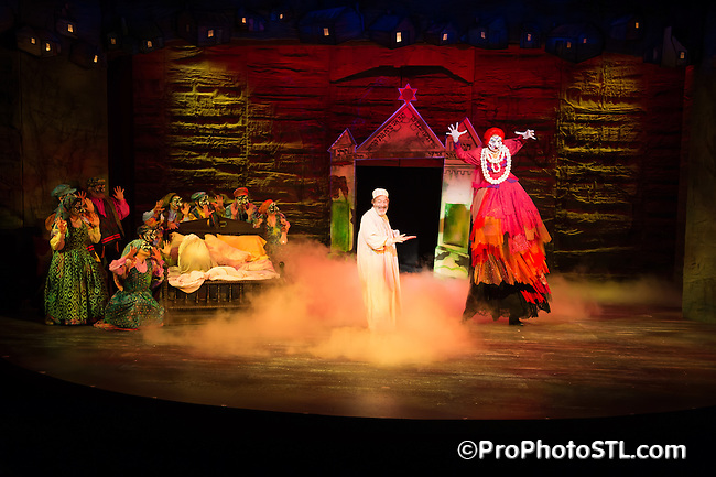 Fiddler on the Roof presented by STAGES St. Louis in The Robert G. Reim Theater in Kirkwood, MO on Sept 4, 2014.